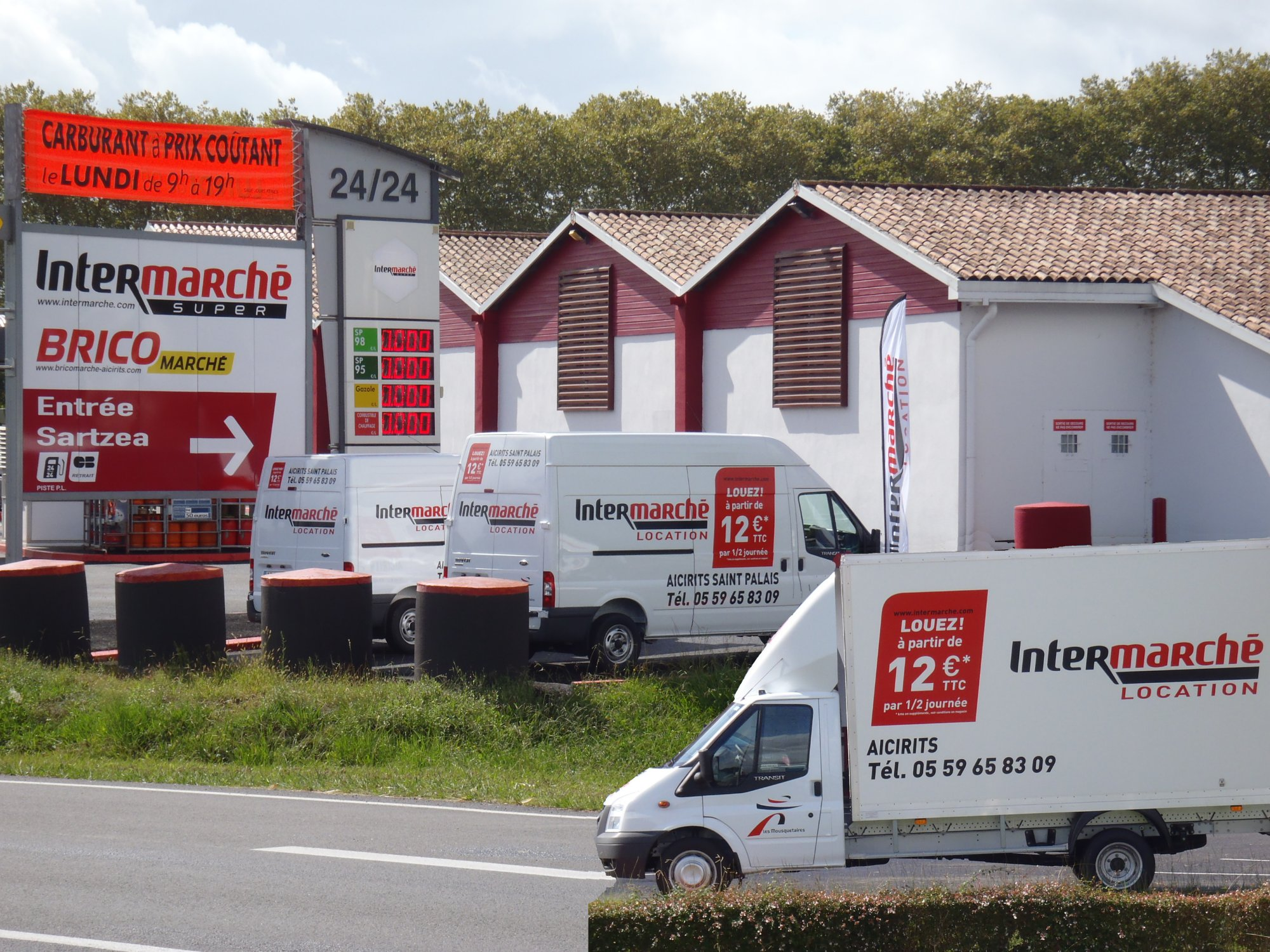 location vehicule intermarche aicirits